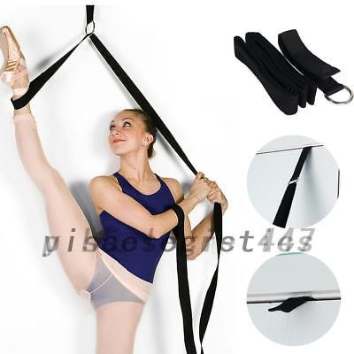 Yoga Ballet Strap Stretch Practice Bands Resistance Dance Gym Training UK