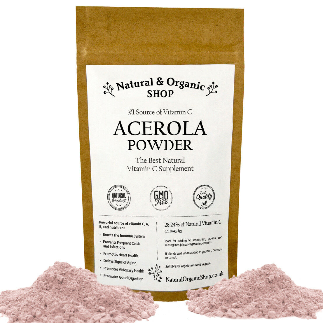 ACEROLA CHERRY POWDER - Natural & Organic Shop  (SPECIAL OFFER up to 30% OFF)