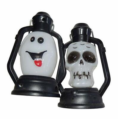 Adult Halloween Party Decorations (Adult 12Pc Halloween Party 10cm Lantern Scary Horror Party Decorations)