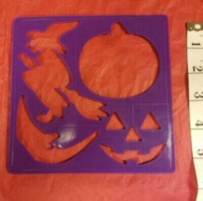 Halloween Arts And Crafts Pumpkin (Halloween 4 Stencils Pumpkin Witches Bat Ghost Cat Arts and Crafts)