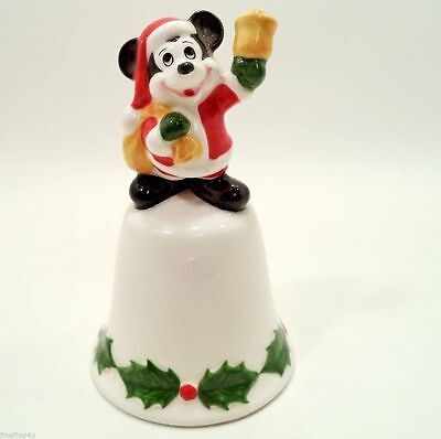WALT DISNEY MICKEY MOUSE XMAS HOLIDAY BELL  SHIPS FREE