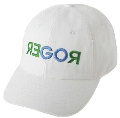 Brand New Roger Federer Uniqlo US Open Go Roger White Hat