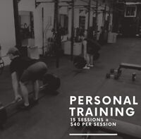 Personal Training Special Promo