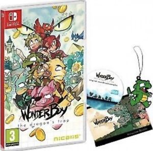 Wonder boy dragons trap Nintendo switch