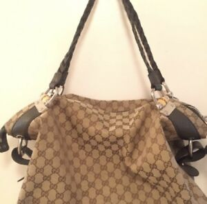 Authentic Gucci Bamboo Shoulder Bag