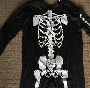 Skeleton costume (kids one size fits most)
