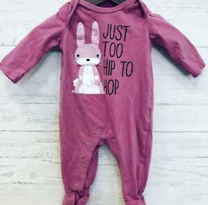 Bunny Romper Easter 3 month