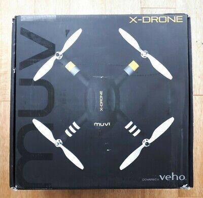 Veho Muvi X Drone UAV Quadcopter with GPS & 1080p HD 16 MP Camera & Live View