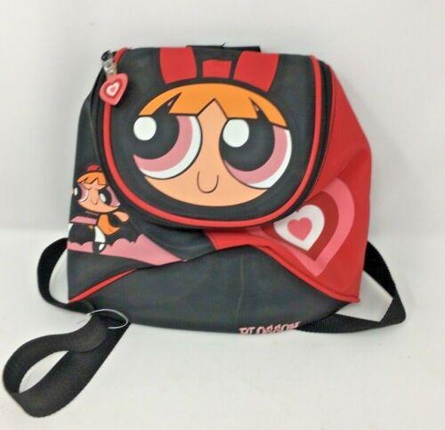 Vintage 2000 POWERPUFF GIRLS Backpack Cartoon Network Blossom  NM