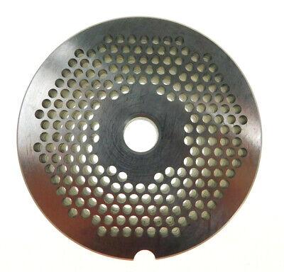 22 X 18 3mm Stainless Meat Grinder Plate For Biro Or Berkel 3 316 Diameter
