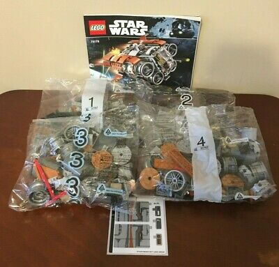 LEGO Star Wars Jakku Quadjumper 75178, No Box - 100% Complete!