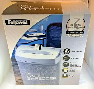 Fellowes T7cm Paper Shredder