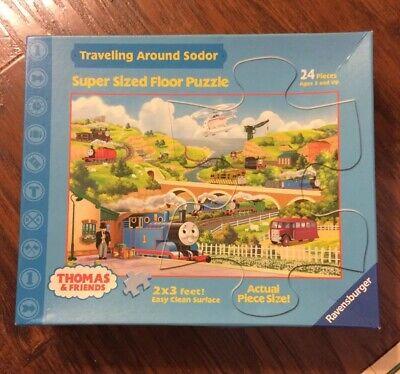 Thomas & Friends Traveling Around Sodor Super Sized Floor Puzzle 24 -