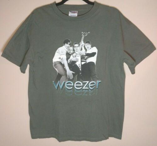 Weezer Midget Tour 2001 Tour Concert T-Shirt Size Large Collectable Punk Emo!!!!