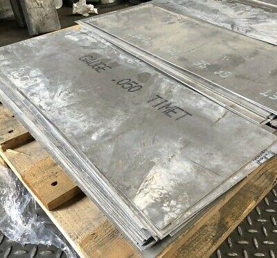 Titanium 6al4v Sheet 6 X 36 X .050