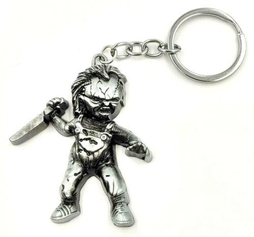 Chucky Keychain Horror Movie Serial Killer Slasher Doll Creepy Voodoo Monster
