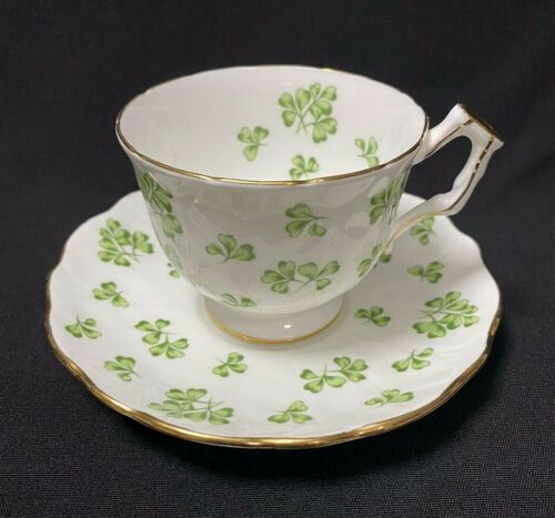 Aynsley Shamrock Teacup Saucer