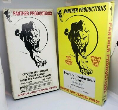 Panther Martial Arts - Panther Productions, Martial Arts Training Videos Capoeira VHS Tapes