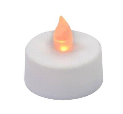 Vela Eléctrica a Batería Reemplazable Luz Lumino Llama Blanco Cálido Luz
