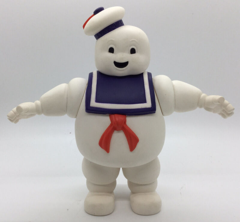 """1984 Stay Puft Marshmallow Man Columbia Pictures 7"""" Figure"""