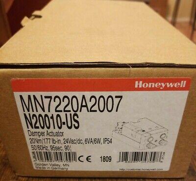 Brand New Honeywell Mn7220a2007 Damper Actuator