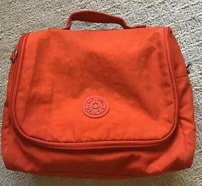 KIPLING Kichirou Lunch Bag Orange Pre-Owned