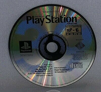 Official Playstation Magazine December 2000 Demo Disc Only