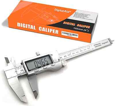 Stainless Steel Digital Caliper measuring device for inside, outside, depth and