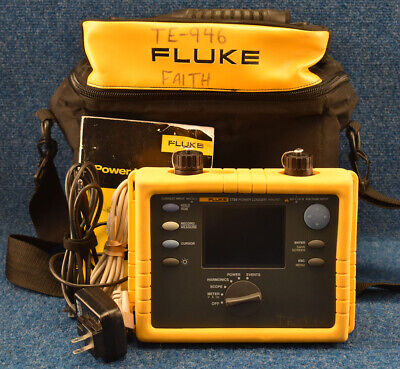 Fluke 1735 1735 Fluke 1735 Power Logger Three Phase Analyst Analyzer