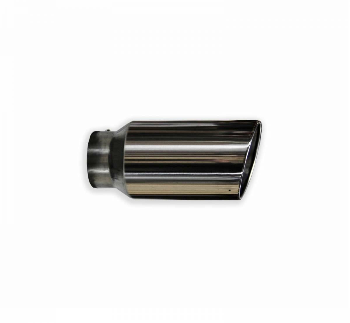 "CHEVY DURAMAX 4/"" INLET 7/"" OUTLET 15/"" LONG 304 STAINLESS DIESEL EXHAUST TIP"