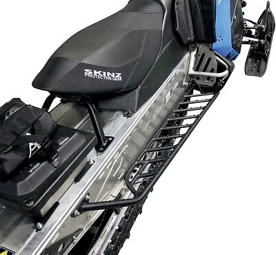 Skinz Protective Gear Airframe Running Board Black PAFRB200-FBK