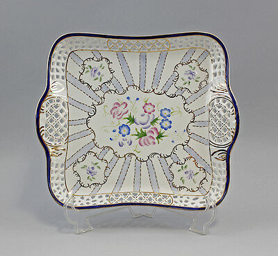 Breakthrough   Tray   Bowl Porcelain With Flowers And Gold Uninstall Kor 9987158