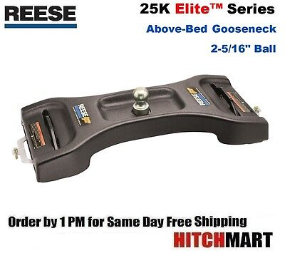 REESE ELITE SERIES ABOVE BED GOOSENECK TRAILER HITCH  30845