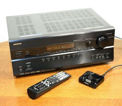 ONKYO HT-RC260 AV Home Theater Receiver 100w/Channel HDMI 7.2 Surround IPOD dock for sale  Shipping to India