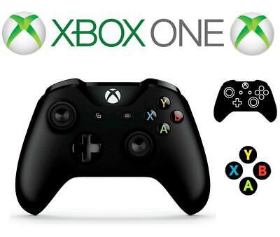 New Microsoft Xbox One Wireless Controller Black UK