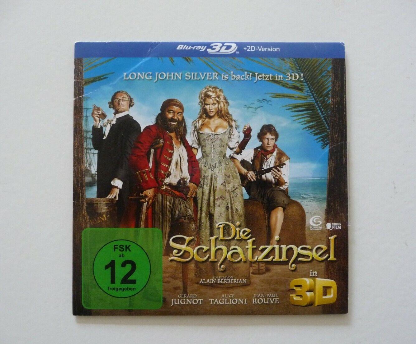 Die Schatzinsel  Blu Ray 3D Film
