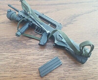 "1/6 Scale French army FAMAS F1 rifle weapon gun custom for 12"" Metal Gear figure"