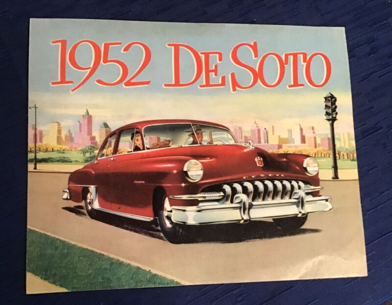 Salesman Brochure Desoto 1952