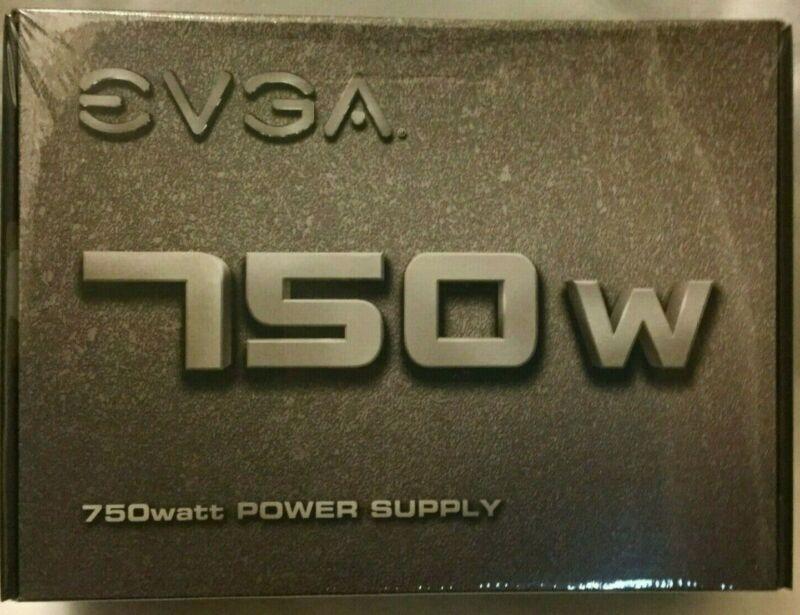 EVGA 750 N1 750W Power Supply NEW In Box