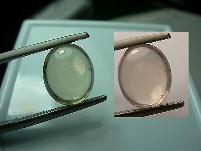 very rare gemmy Diaspore Cab Color Change gemstone Bafa Lake Turkey gem dc538
