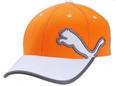 Puma Cobra King Monoline 2.0 Relaxed Fit Golf, Baseball Kappe, Cap -Orange, Neu!