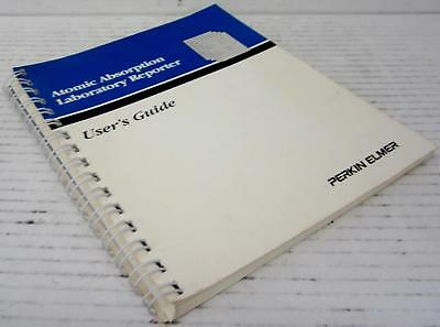 Perkin Elmer 0993-8741 Atomic Absorption Laboratory Reporter Users Guide