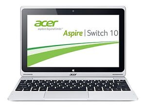 10 1 25 7cm acer aspire switch 10 sw5 intel 4x1 33ghz 32gb flash 2gb ips win10 ebay. Black Bedroom Furniture Sets. Home Design Ideas