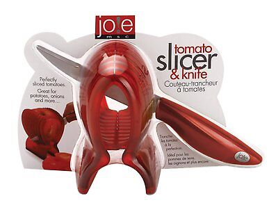 Joie MSC Plastic Tomato Slicer and Stainless Steel Knife - 2 Piece Set