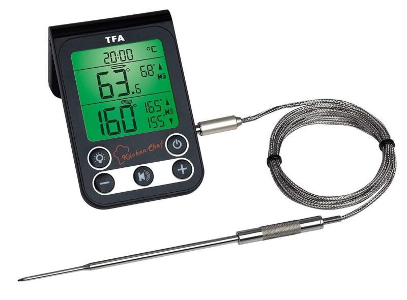 TFA Dostmann Maxima-Minima Thermometer Für Innen oder Außen Top Qualitat NEU