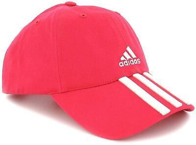 Adidas Mens Cap 6 Panel 3 Stripes Sports Baseball Golf Adjustable Cotton Hats