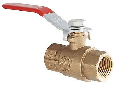 LDR 020 1512 3/8-Inch IPS Brass Heavy Duty Gas Ball Valve *
