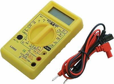 Am-tech Small Digital Multimeter Dc Handy Pocket Size 9v.