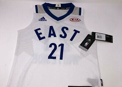 Hassan Whiteside #21 Adidas NBA Toronto All Star Game East Jersey Youth Large