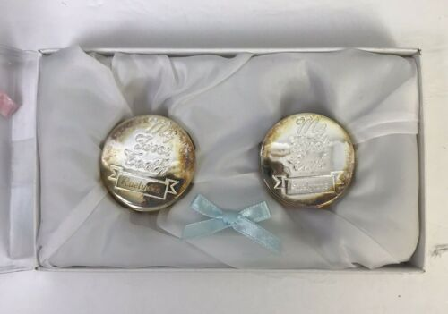 Skyway Keepsake My First Curl and Tooth Box Set Round Silver Engraved Rae Lynne